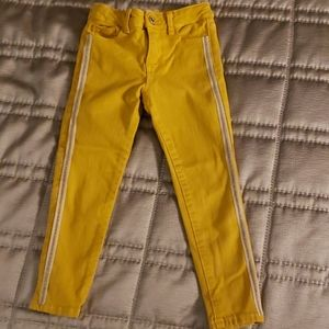 Yellow Girl's Zara Skinny Jeans